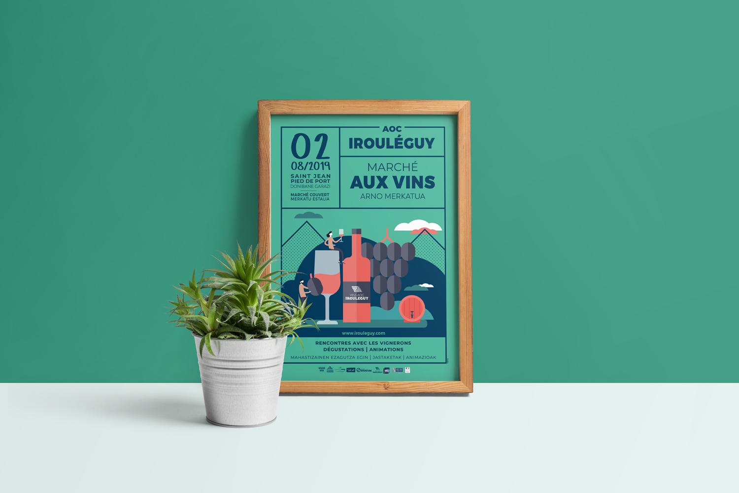 syndicat-vins-irouleguy-bixoko-affiche-01
